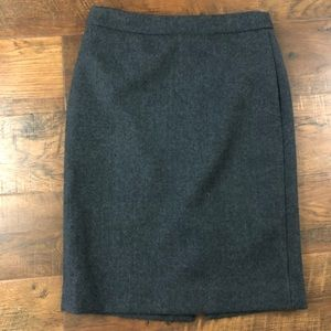J.Crew Double Serge Pencil Skirt Size 2